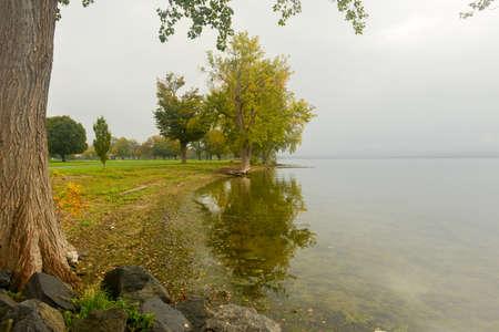 Onondaga Lake and Park outside of Syracuse, New York