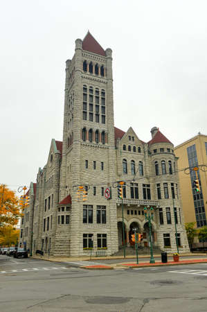 syracuse: The Syracuse City Hall. It the city hall of Syracuse, New York. The Syracuse City Hall is the city hall of Syracuse, New York built in the Romanesque Revival architectural style.
