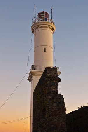 Ruined Lighthouse (Faro) of Colonia del Sacramento, Uruguary