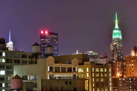 chelsea: New York Skyline view from Chelsea in Manhattan.