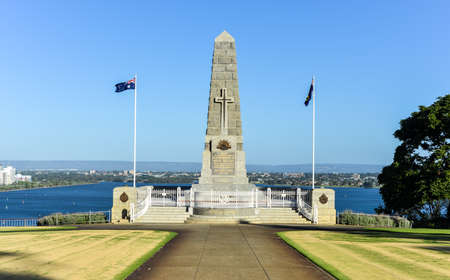 Cenotaph of the Kings Park War Memorial in Perth, Australia during daytime.