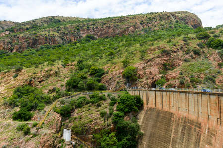 northwest africa: Hartbeespoort Dam in North West, South Africa outside of Pretoria. Stock Photo