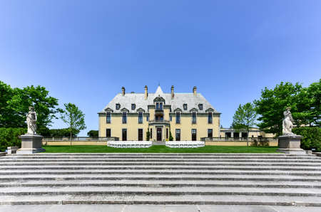 Oheka Castle in Huntington, New York. One of many among the Gold Coast Mansions of Long Island.