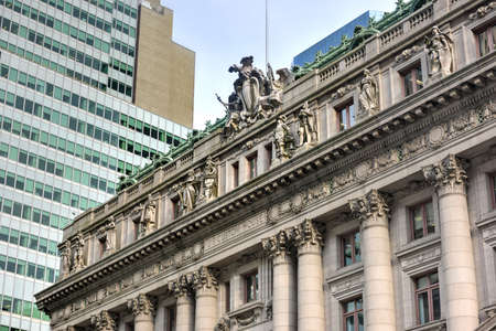 alexander hamilton: Alexander Hamilton US Custom House a Lower Manhattan, New York City. Ora � il Museo Nazionale degli Indiani d'America.