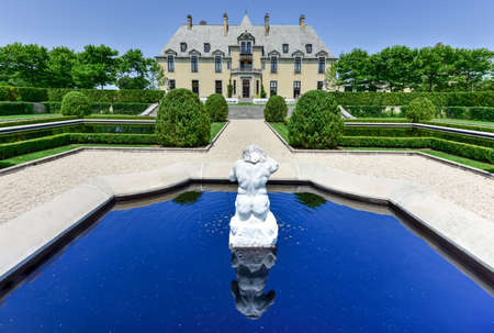 fitzgerald: Oheka Castle in Huntington, New York. One of many among the Gold Coast Mansions of Long Island.