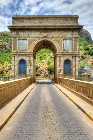 northwest africa: Hartbeespoort Dam Arch in Pretoria, South Africa.