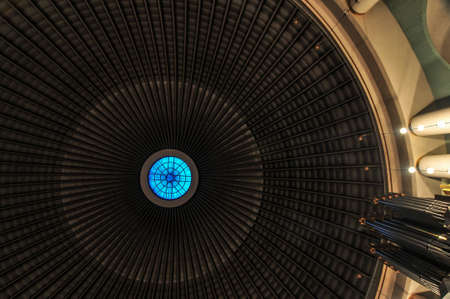 roman catholic: Dome of Roman Catholic Cathedral Saint Hedwigs modeled after the Pantheon.