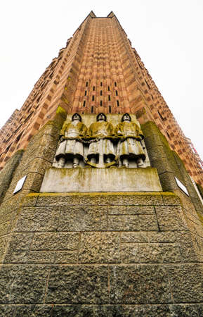building monumental: De Bazel is a monumental building on the west side of the Vijzelstraat in Amsterdam. It is an example of Brick Expressionism.
