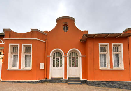 colonial building: German style colonial building in Luderitz, Namibia