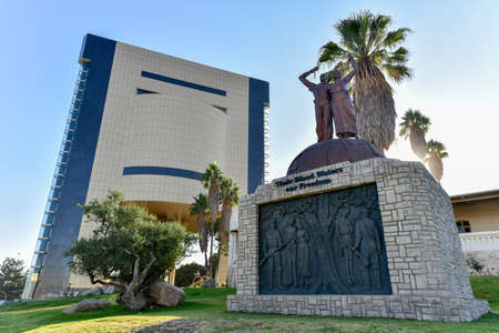 legislature: The Tintenpalast (German for Ink Palace) is the seat of both chambers of the Namibian legislature, the National Council and the National Assembly. It is located in the Namibian capital of Windhoek.