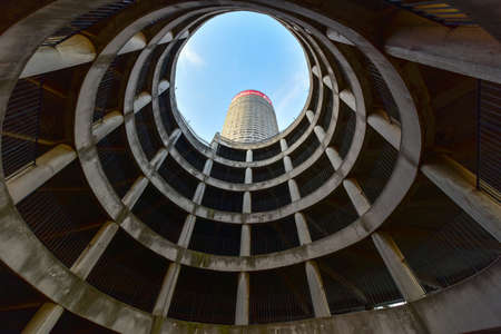 ponte: Ponte City Building interior cylinder. Ponte City is a famous skyscraper in the Hillbrow neighbourhood of Johannesburg. Editorial