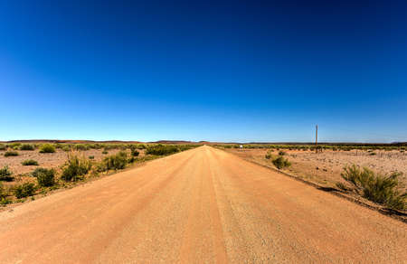 gravel roads: Dirt and gravel roads in the Karas, Namibia.