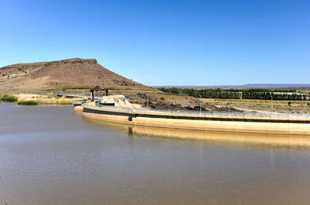 commissioned: The Naute Dam is a dam outside of Keetmanshoop in the Karas Region of Namibia. It was built between 1970-1972 and was officially commissioned in September 1972.