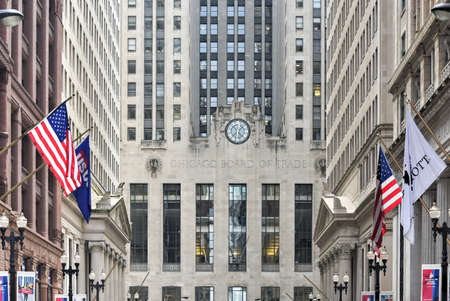 Chicago board of trade building chicago illinois the art deco building was built
