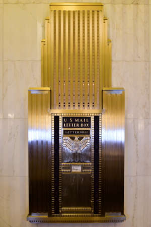 bank of america: Chicago - September 7, 2015: The Field Building, also known as the LaSalle National Bank Building and Bank of America Building[1] is an art deco office building at 135 South LaSalle Street