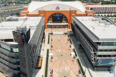 american airlines: Dallas - May 13, 2007: The American Airlines Center is a multi-purpose arena, located in the Victory Park neighborhood, near downtown Dallas, Texas.