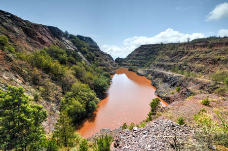 The Ngwenya Mine is located on Bomvu Ridge, northwest of Mbabane and near the north-western border of Swaziland. This mine is considered to be the worlds oldest.
