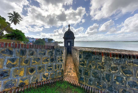 the sentinel: Castillo San Felipe del Morro also known as Fort San Felipe del Morro or Morro Castle. It is a 16th-century citadel located in San Juan Puerto Rico. Editorial