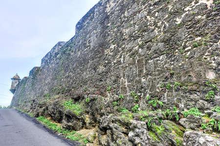 City Walls and lookout of San Juan, Puerto Rico. Stock Photo