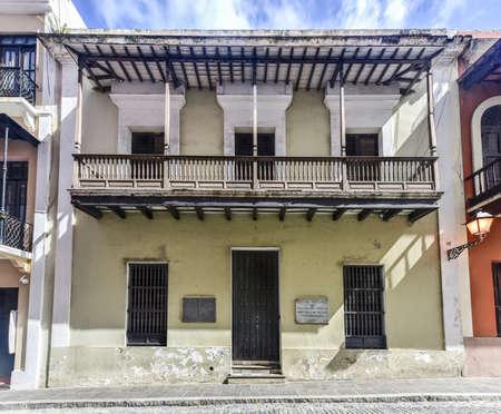 san juan: National Cultural Center of Puerto Rico in Old San Juan. Stock Photo