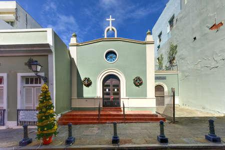 San Juan Presbyterian Church in Old San Juan, Puerto Rico.