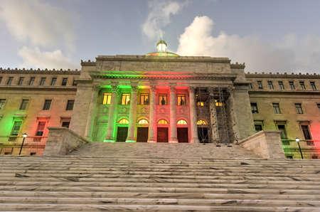 rico: Puerto Rico Capitol (Capitolio de Puerto Rico) in San Juan, Puerto Rico. Editorial