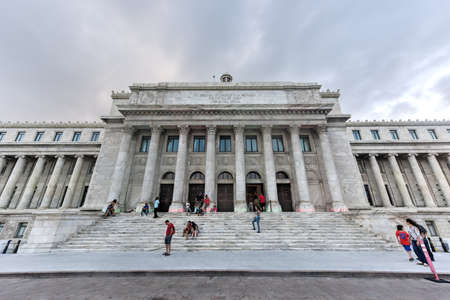 rico: San Juan, Puerto Rico - December 25, 2015: Puerto Rico Capitol (Capitolio de Puerto Rico) in San Juan, Puerto Rico.