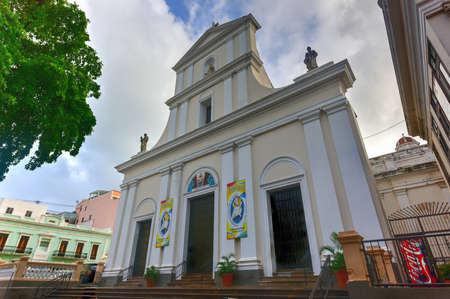 viejo: Cathedral of San Juan Bautista is a Roman Catholic cathedral in Old San Juan, Puerto Rico. This church is built in 1521 and is the oldest church in the United States.