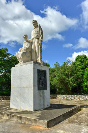 rican: Monumento al Jibaro Puertorriqueno (Monument to the Puerto Rican Countryman) is a monument built by the Government of Puerto Rico to honor the Puerto Rican Jibaro, located in Salinas, Puerto Rico.