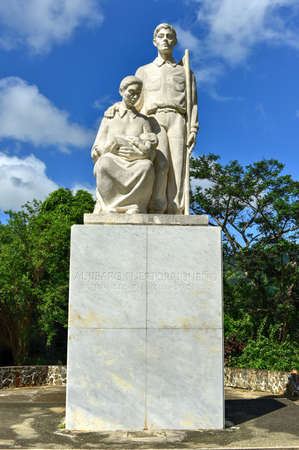 puerto rican: Monumento al Jibaro Puertorriqueno (Monument to the Puerto Rican Countryman) is a monument built by the Government of Puerto Rico to honor the Puerto Rican Jibaro, located in Salinas, Puerto Rico.
