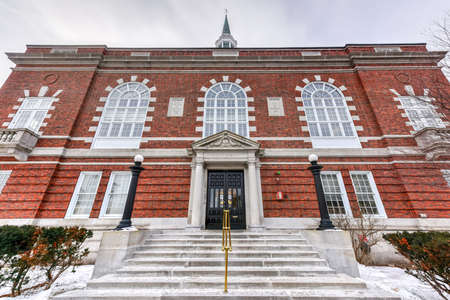 hampshire: City Hall Building in Concord, New Hampshire. Stock Photo