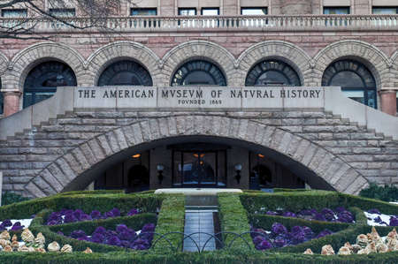 natural history museum: New York City - January 31, 2016: American Museum of Natural History in Manhattan. The museum collections contain over 32 million specimens.