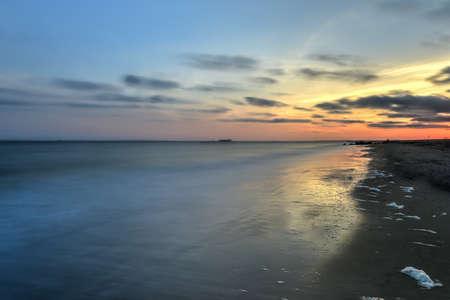 coney: The Brooklyn shoreline with Coney Island Beach.