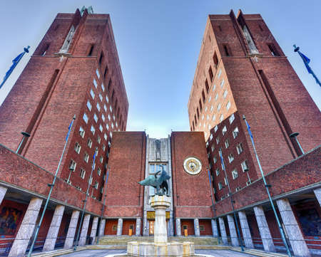 functionalism: Oslo City Hall (Norwegian: Oslo radhus) houses the city council, city administration, and art studios and galleries. Editorial
