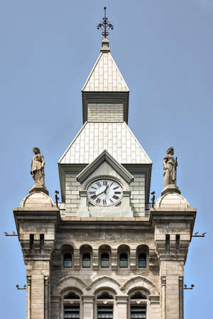 municipal court: Erie County Hall, is a historic city hall and courthouse building located at Buffalo in Erie County, New York.