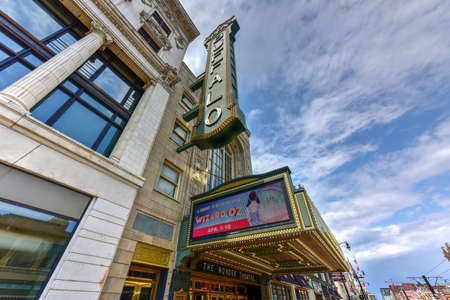 Buffalo, New York - May 8, 2016: Shea's Performing Arts Center (originally Shea's Buffalo) is a theater for touring Broadway musicals and special events in Buffalo, New York.