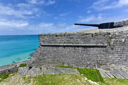 catherine: Fort Saint Catherine in St. Georges, Bermuda.