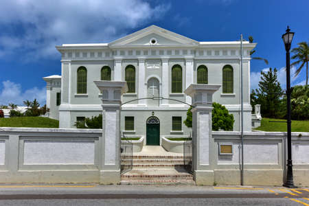 parish: Ebenezer Methodist Church in St. Georges Parish, Bermuda.