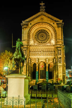 The Eglise Saint-Augustin de Paris (Church of St. Augustine) is a Catholic church located at 46 boulevard Malesherbes in the 8th arrondissement of Paris.