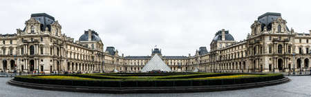 Paris, France - November 23, 2006: The Musee de Louvre is one of the worlds largest museums and a historic monument in Paris. Editorial