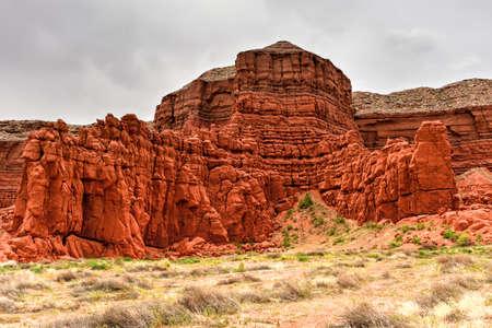 mesa: Baby Rocks Mesa and Volcanic Plugs in Arizona