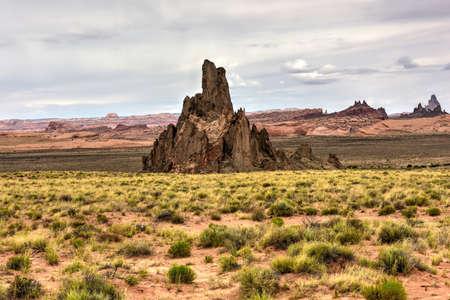 Baby Rocks Mesa and Volcanic Plugs in Arizona