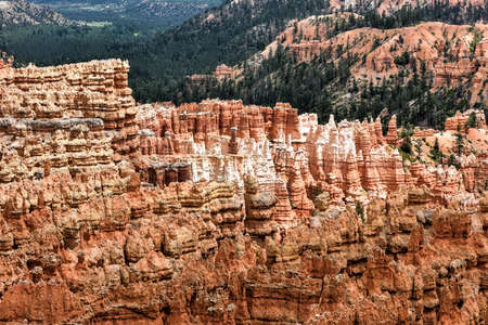plateau point: Bryce Canyon National Park in Utah, United States.