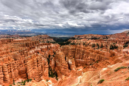 Bryce Canyon National Park in Utah, United States.