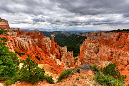 plateau point: Agua Canyon in Bryce Canyon National Park in Utah, United States.