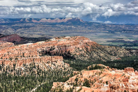 plateau point: The Amphitheater in Bryce Canyon National Park in Utah, United States.