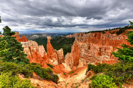 thor's: Agua Canyon in Bryce Canyon National Park in Utah, United States.