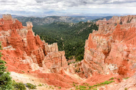 landforms: Agua Canyon in Bryce Canyon National Park in Utah, United States.
