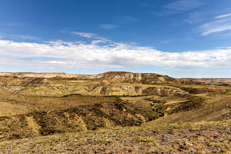 four corners: View of the natural landscape from the Four Corners where four US states intersect.
