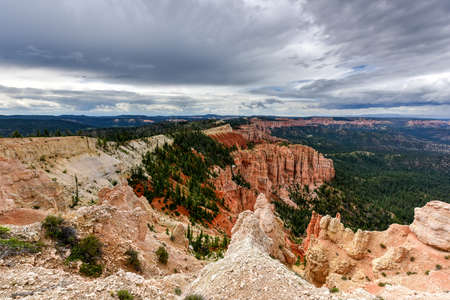 Rainbow Point at Bryce Canyon National Park in Utah, United States.